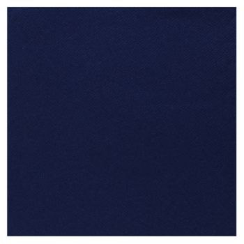 25 Serviettes velours luxe bleu royal