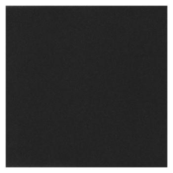 25 Serviettes velours luxe noire