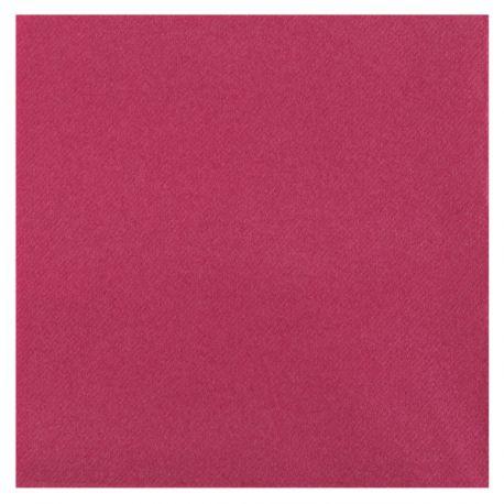 Paquetde 25 serviettes touché velours pour une décoration de table haut de gamme, de couleur fuschiaDimensions: 40 cm x...