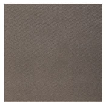 25 Serviettes velours luxe taupe