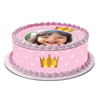 Kit Easycake pour gâteau personnalisé Princesse Couronne
