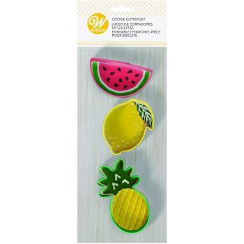 3 Emporte pièce fruits Wilton