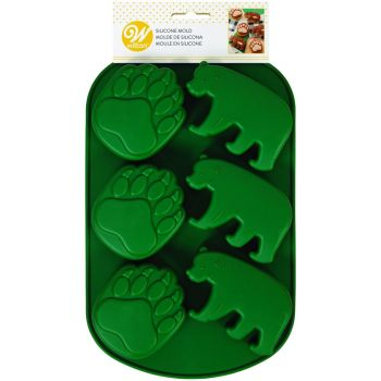 Moule silicone ours forêt Wilton