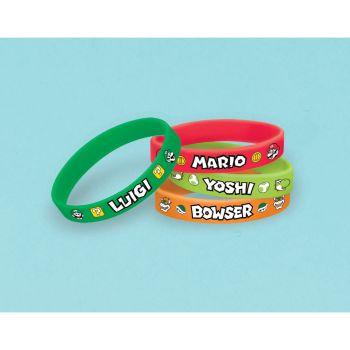 6 Bracelets Super Mario Bros