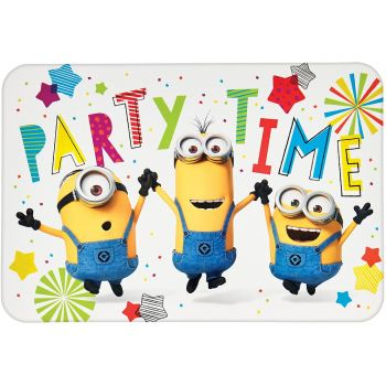 8 cartes invitations minions party
