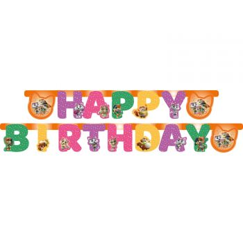 Banderole Happy Birthday 44 chats