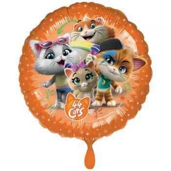 Ballon hélium 44 chats Ø43cm