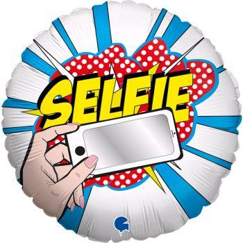 Ballon helium Selfie