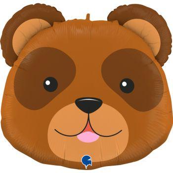 Ballon helium tête d'ours