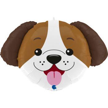 Ballon helium tête de chien