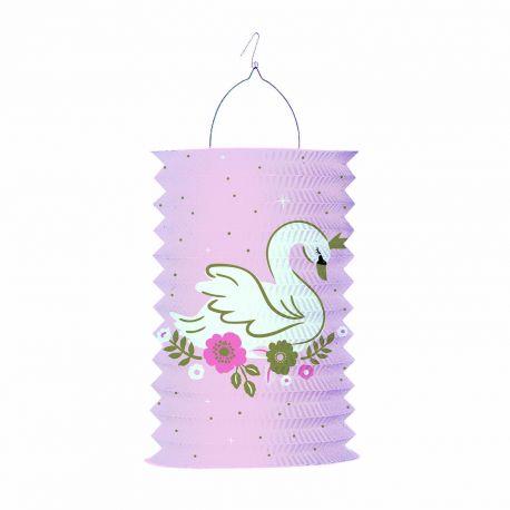 Lanterne en papier pour une belle décoration d'anniversaire de princesse d'un jourDimensions : 28 cm