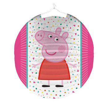 Lanterne papier Peppa Pig