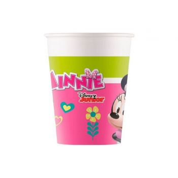 8 Gobelets carton Minnie
