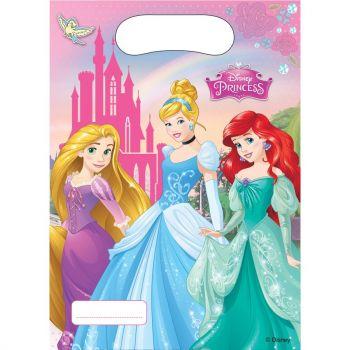 6 Sachets de fête Mes Princesses Disney