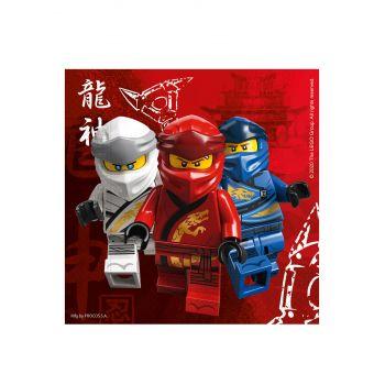 20 Serviettes compostable Lego Ninjago