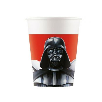 8 Gobelets carton Star Wars