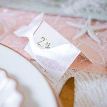 8 marques places sirène rose