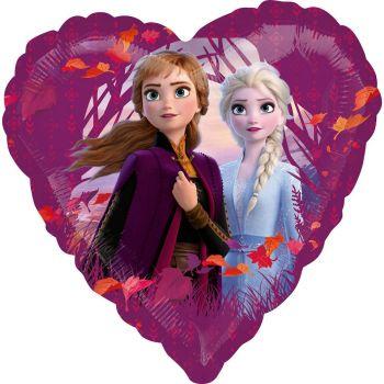 Ballon alu coeur La Reine des Neiges II