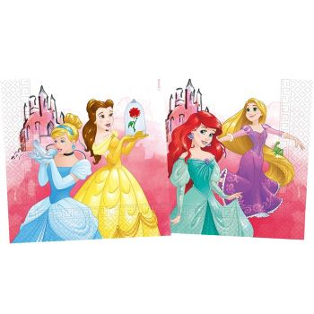 20 Serviettes compostable Princesses Disney