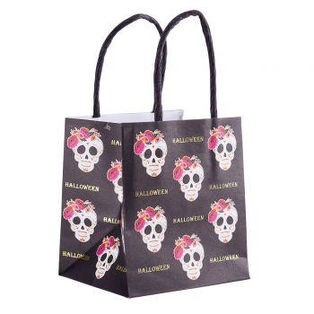 6 Mini sacs papier Calavera Halloween