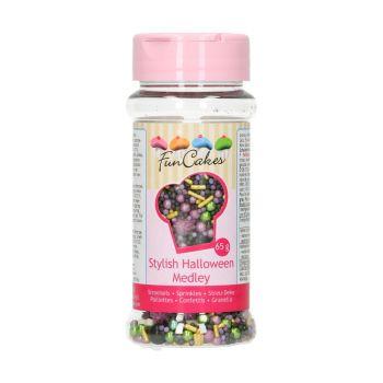 Sprinkles en sucre Mix Halloween Funcakes