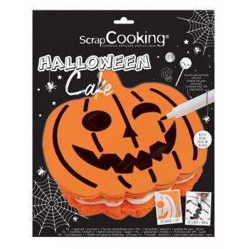 Kit pochoir Halloween Scrapcooking
