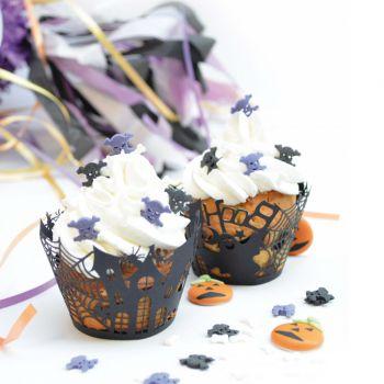 12 Wraps à cupcakes Halloween Scrapcooking
