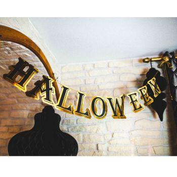 Gurilande Halloween noire et or