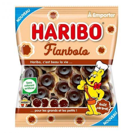 Vous aimez le Caramel ? Vous allez adorer le bonbon Flanbolo ! Avec son délicieux parfum flan caramélisé, le bonbon Flanbolo Caramel...