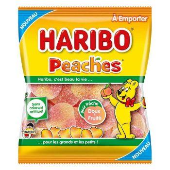 Bonbons Peaches Haribo 120 gr