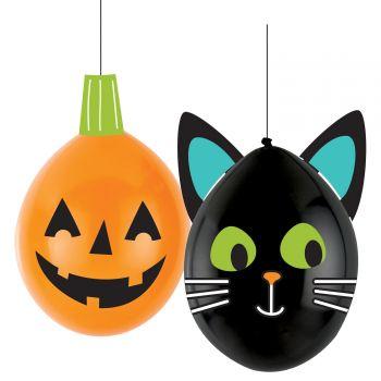 4 Ballons Halloween DIY