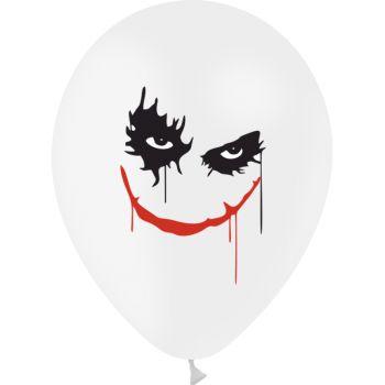 10 Ballons Halloween Joker