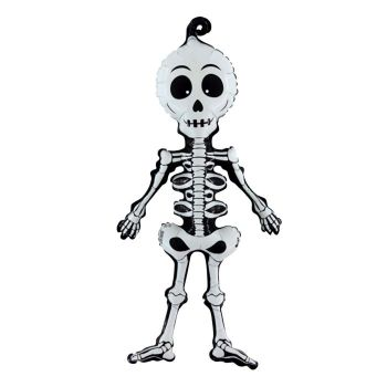 Ballon alu squelette Halloween