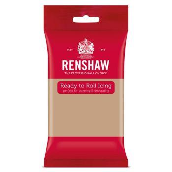 Pâte à sucre beige 250gr Renshaw Pro