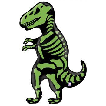Ballon hélium squelette T-Rex