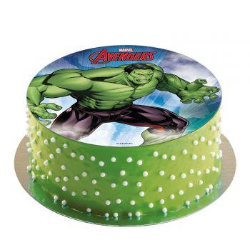 Disque azyme Avengers Hulk 20cm