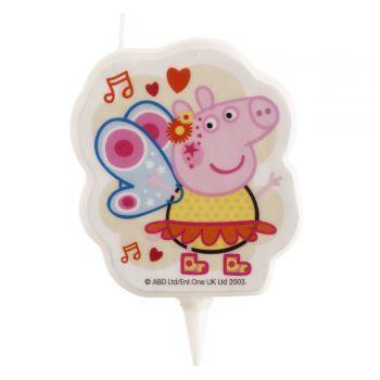 Bougie Peppa Pig pour gateau