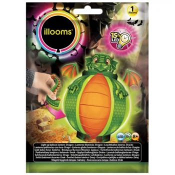 1 Kit Ballon lanterne lumineux dragon