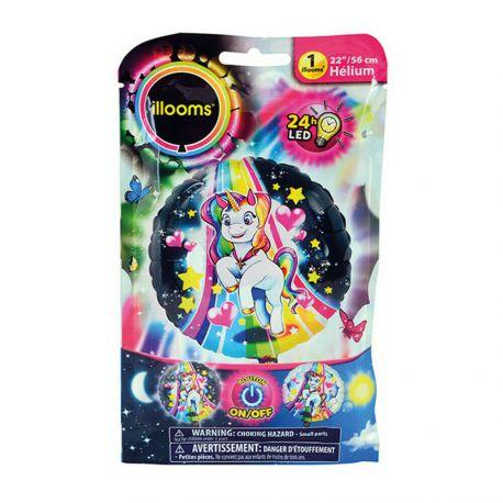 Illoominez votre fête d'anniversaire avec ce ballon magique d'Illoom.Ce produit s'allume jusqu'à 24 heures et est doté d'une...