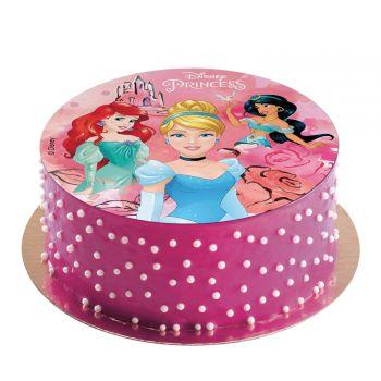 Disque azyme Princesses Disney sans sucre 20cm