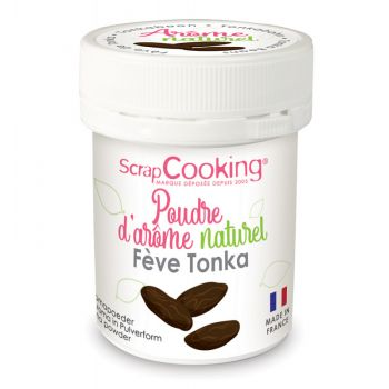Poudre arôme naturel fève de tonka Scrapcooking