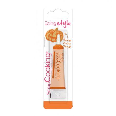 Grâce à ce stylo de couleur orangedécorez et personnalisez vos desserts !Réalisez des messages ou des décors pour un...