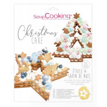 Kit Christmas cake Scrapcooking