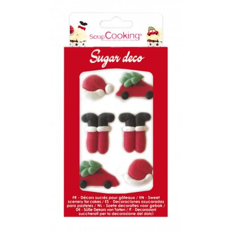 Boîte de 6 sucres décoratifs