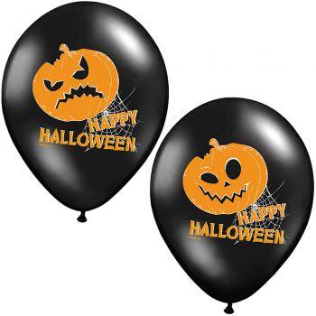 6 Ballons citrouille Halloween