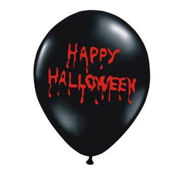 6 Ballons Happy Halloween sanglant