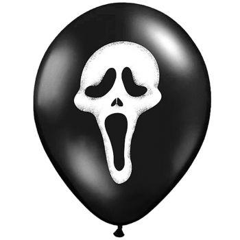 6 Ballons Scream Halloween