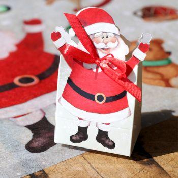 6 boites Père Noël