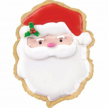 Ballon biscuit Père Noël
