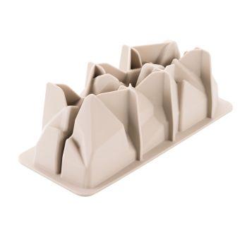 Moule à bûche 3D Artic en silicone